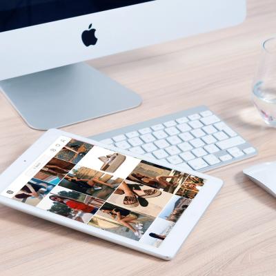foto creación web responsive tablet