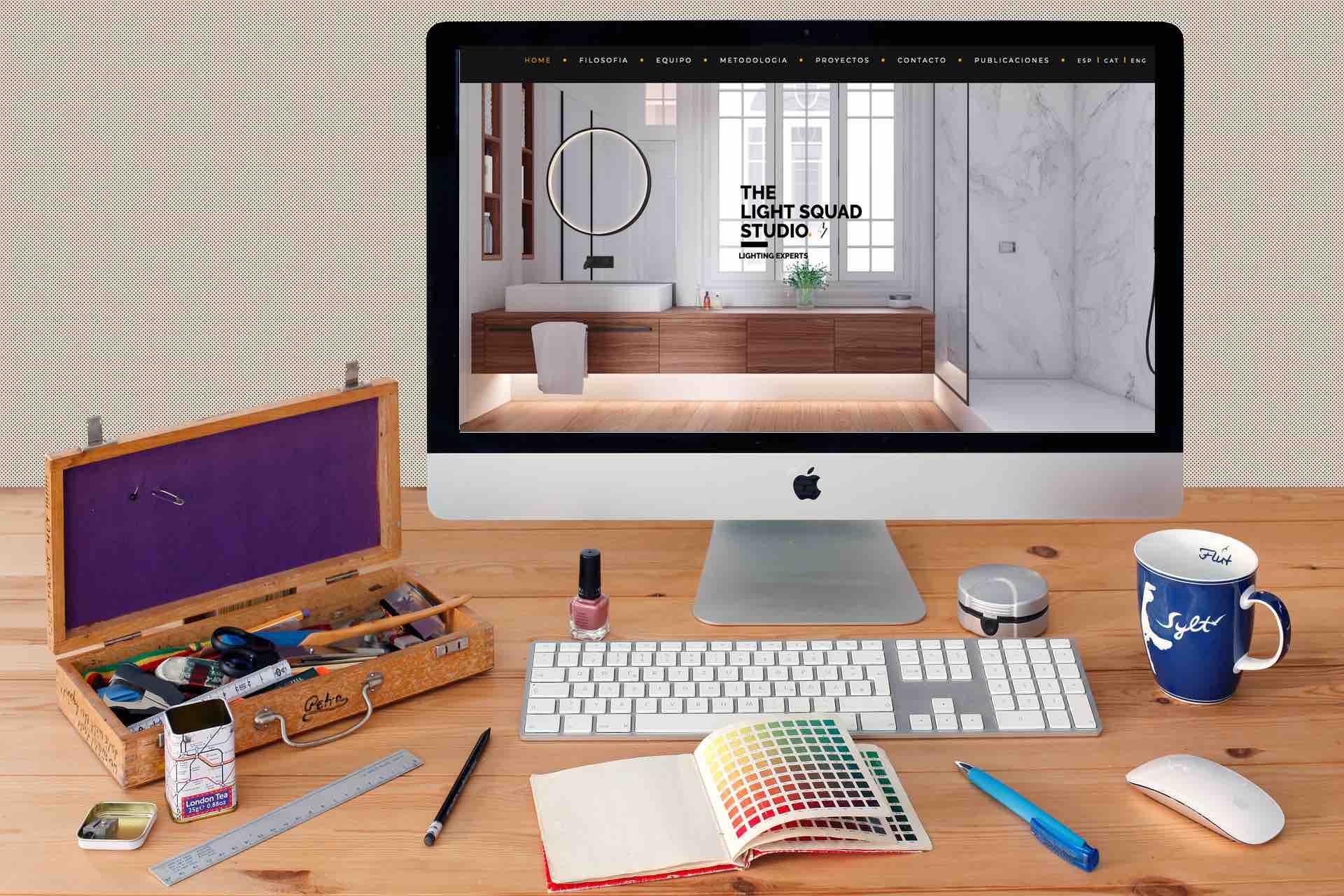 poyecto de hosting y creación de web
